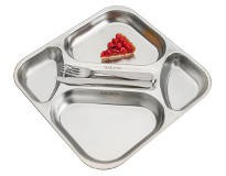 Dishes and trays for mass catering